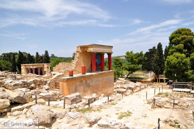 Knossos het paleis van koning Minos op Kreta
